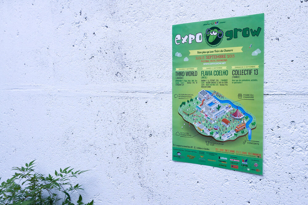 Affiche Expogrow 2015 - Agence Dream