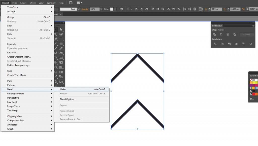 Créer un motif avec Adobe Illustrator