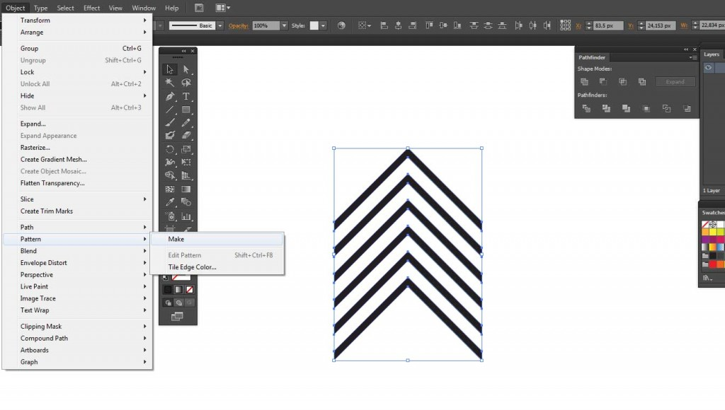 comment cr u00e9er un motif avec adobe illustrator