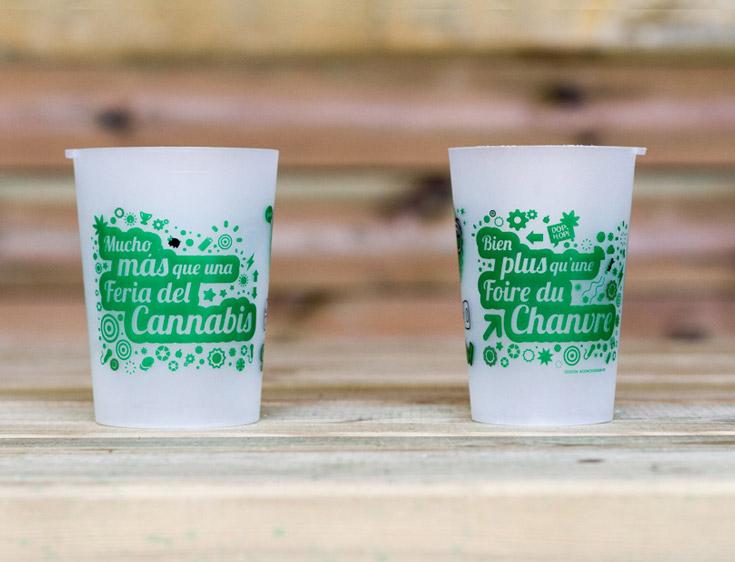 Inspiration gobelet réutilisable écologique - Foire Expogrow 2015