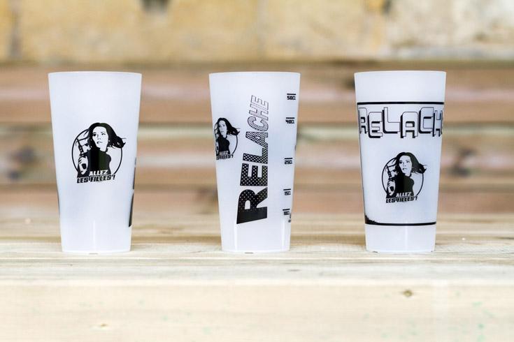 Inspiration gobelet réutilisable écologique - Relache Bordeaux 2015 Alles les Filles