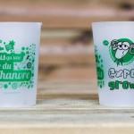 Gobelets réutilisables écologiques Foire