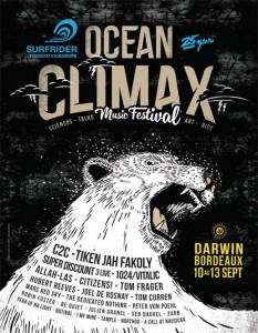 Music Festival Ocean Climax 2015 Bordeaux