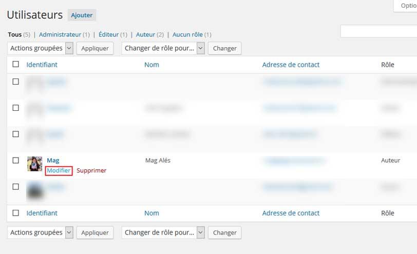 Comment insérer une bio d'auteur sur WordPress sans plugin et gratuitement