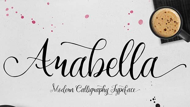 Arabella - Typographie gratuite par MySunday Type Foundry