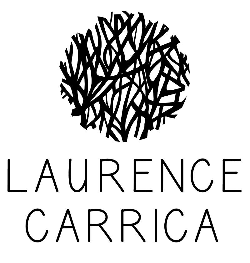 Résultat final de la refonte du logotype de Laurence Carrica.